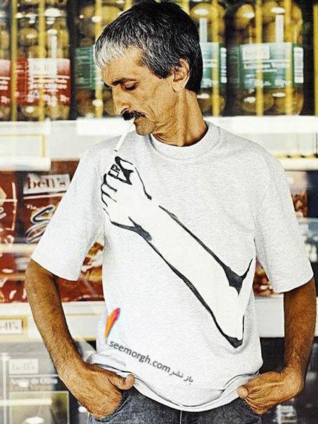 تی شرت برای افراد سیگاری