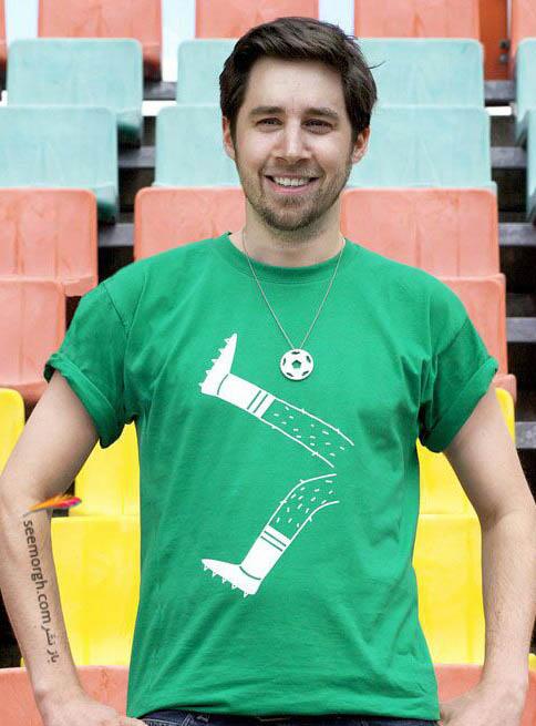 تی شرت ورزشی برای فوتبال دوستان