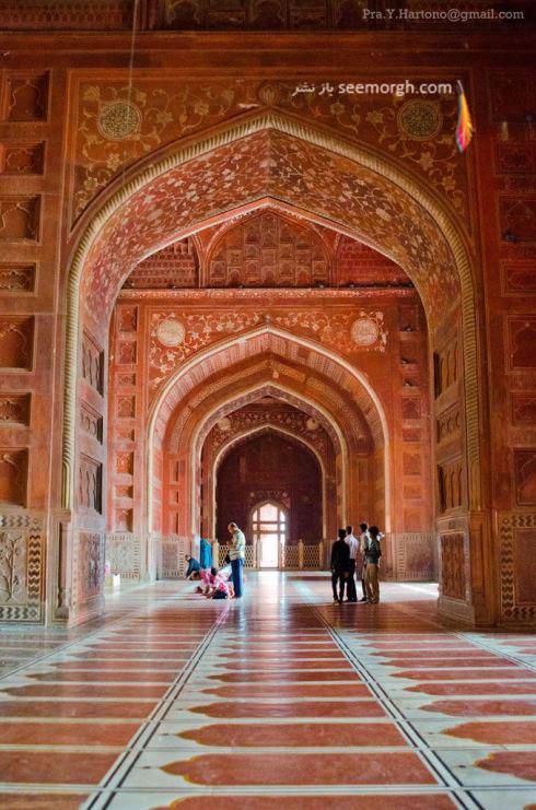 مسجد تاج محل - هند