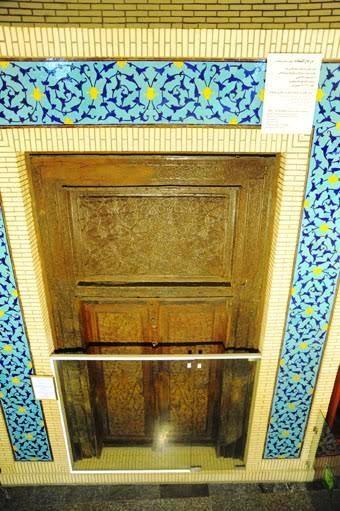 قدیمی ترین در چوبی حرم امام رضا (ع) + عکس