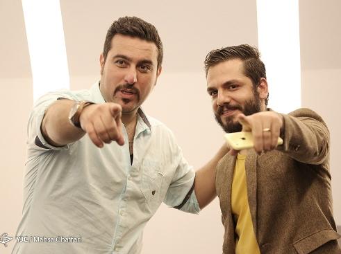 عباس غزالی و محسن کیایی در اکران خصوصی عصر یخبندان