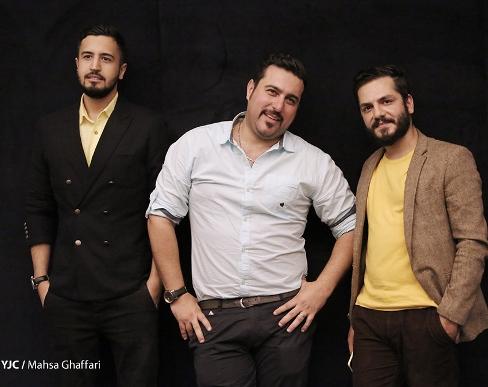 عباس غزالی، محسن کیایی و مهرداد صدیقیان در اکران خصوصی عصر یخبندان