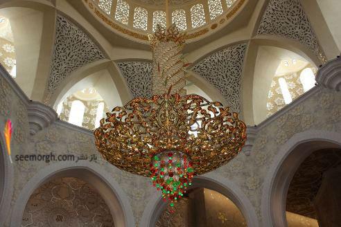 مسجد بزرگ شیخ زائد - امارات متحده عربی
