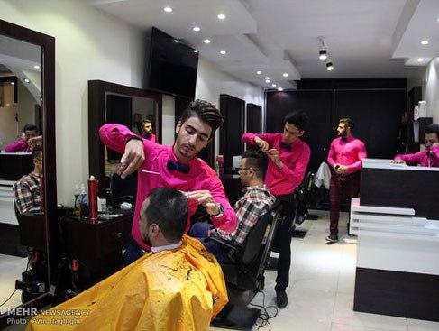 آرایشگاه مردانه به سبک ایرانی 2