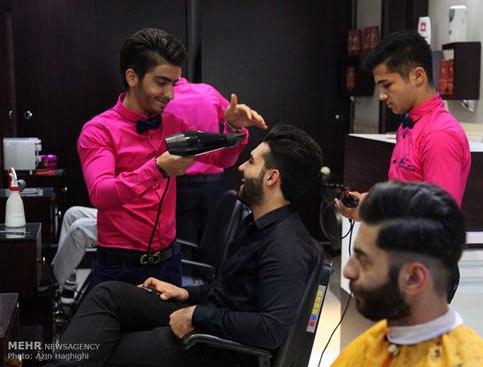 آرایشگاه مردانه به سبک ایرانی 3