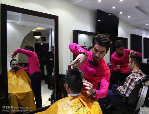 آرایشگاه مردانه به سبک ایرانی 4