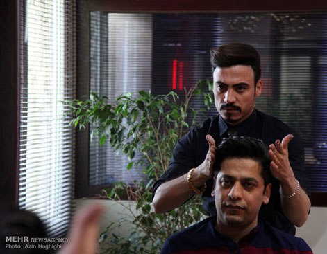 آرایشگاه مردانه به سبک ایرانی 5