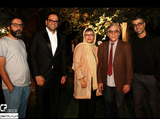 عکسهای هنرمندان در ضيافت شام سریال شهرزاد 9