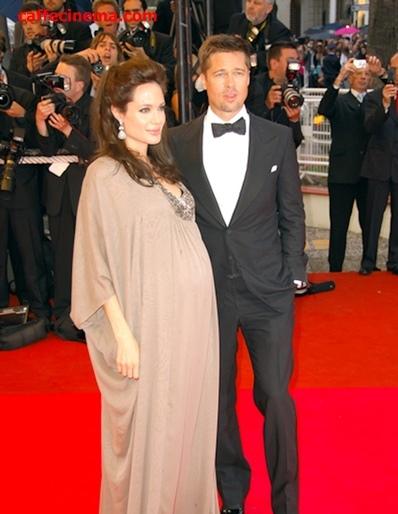 دوران بارداری آنجلینا جولی