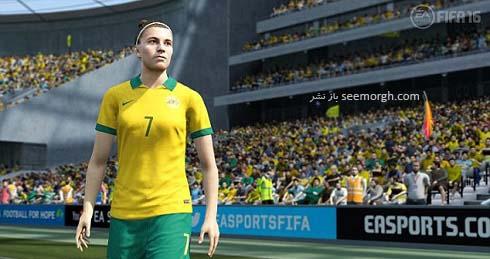 نخستین زن فوتبالیست در فیفا 16