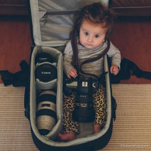نوزاد عکاس!