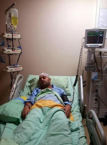بهنام صفوی پس از جراحی