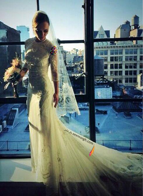 لباس عروس کریستینا ریچی Christina Ricci,8 لباس عروس برتر ستارگان هالیوودی در دنیای مد