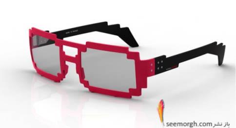 عینک برای طرفداران لگو