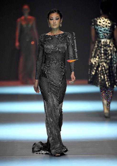 مدل لباس شماره 15 از کلکسیون بهاره - تابستانی 2015 دانی تابت Dany Tabet