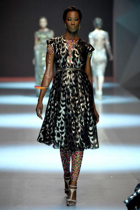 مدل لباس شماره 13 از کلکسیون بهاره - تابستانی 2015 دانی تابت Dany Tabet
