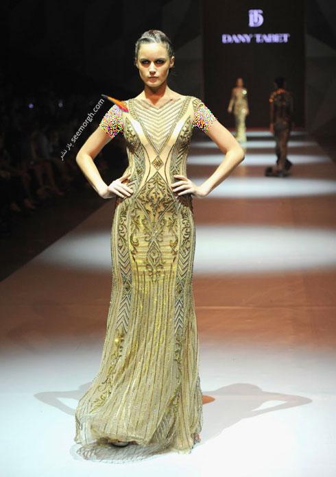 مدل لباس شماره 17 از کلکسیون بهاره - تابستانی 2015 دانی تابت Dany Tabet