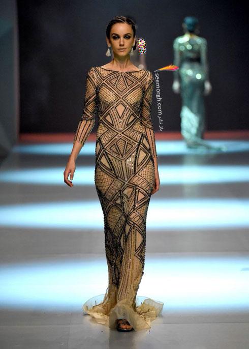 مدل لباس شماره 1 از کلکسیون بهاره - تابستانی 2015 دانی تابت Dany Tabet