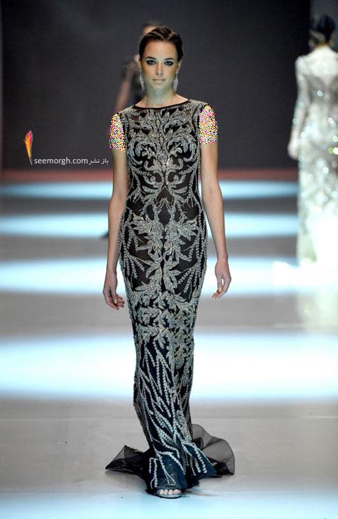 مدل لباس شماره 3 از کلکسیون بهاره - تابستانی 2015 دانی تابت Dany Tabet