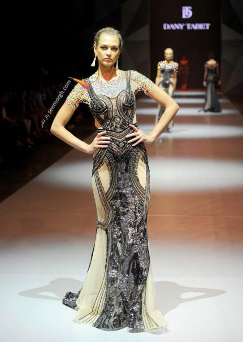 مدل لباس شماره 6 از کلکسیون بهاره - تابستانی 2015 دانی تابت Dany Tabet