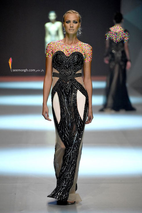 مدل لباس شماره 7 از کلکسیون بهاره - تابستانی 2015 دانی تابت Dany Tabet