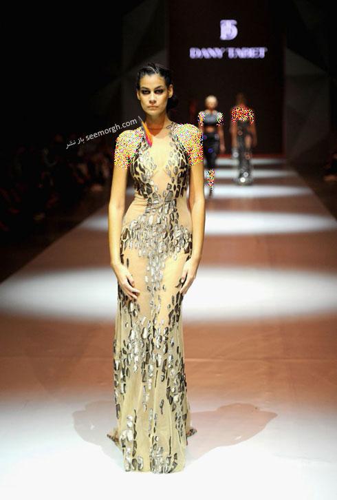 مدل لباس شماره 8 از کلکسیون بهاره - تابستانی 2015 دانی تابت Dany Tabet