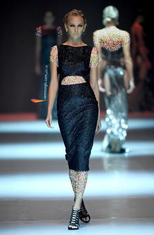 مدل لباس شماره 9 از کلکسیون بهاره - تابستانی 2015 دانی تابت Dany Tabet