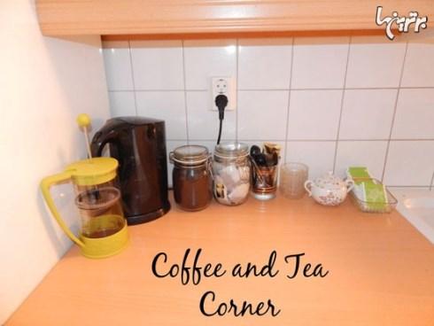 گوشه آشپزخانه تان را با انواع چای ها پر کنید