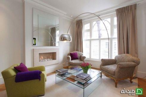 استفاده از آینه در مقابل پنجره و چراغ های روشنایی باعث بزرگتر شدن فضای تان می شود