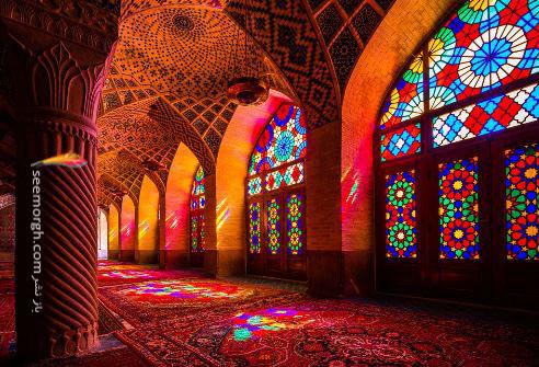 مسجد نصیر الملك - شیراز