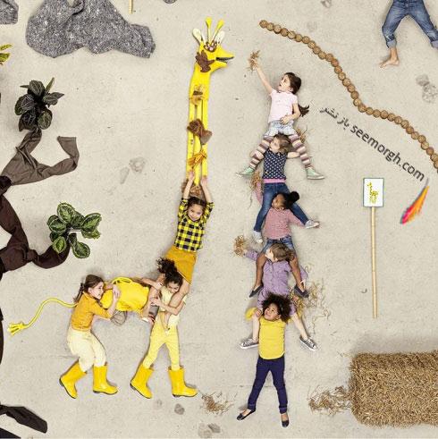 صحنه ای از یک باغ وحش از کتاب