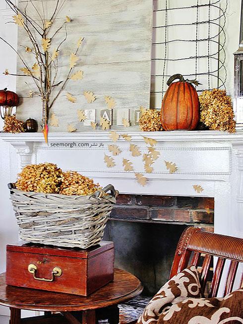 برگریزان پاییز را به دکوراسیون داخلی تان اضافه کنید