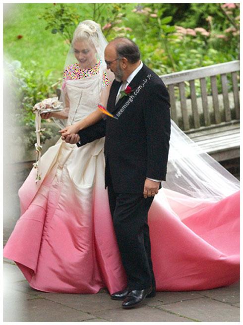 لباس عروس گوئن استفانی Gwen Stefany,8 لباس عروس برتر ستارگان هالیوودی در دنیای مد