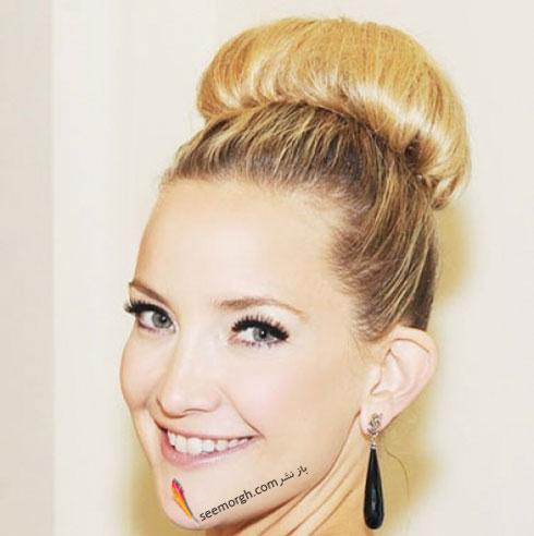 مدل موی جمع  برای موهای نازک و کم پشت