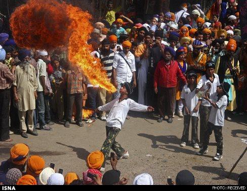 جشنواره,آداب و رسوم,بهار,فصل بهار,جشنواره هند