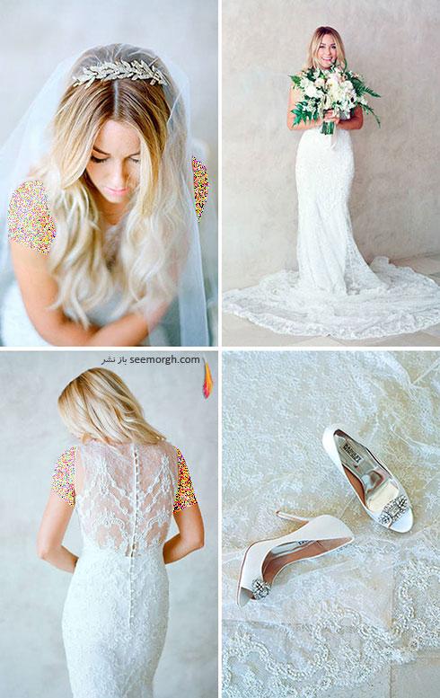 لباس عروس لورن کنراد Lauren Conrad,8 لباس عروس برتر ستارگان هالیوودی در دنیای مد
