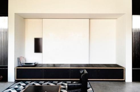 نصب کردن تلویزیون LCD روی پنل های کشویی ساده