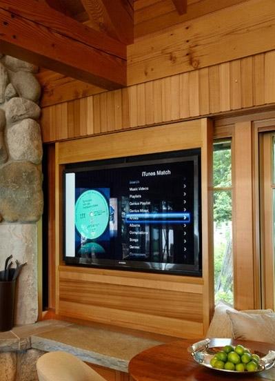 برای فضاهای کوچک تلویزیون LCD را روی پنجره نصب کنید