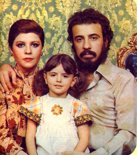 علی حاتمی, لیلا حاتمی و زری خوشکام