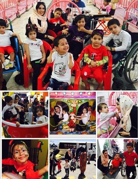 لیلا بلوکات و کودکان تحت سرپرستی اش