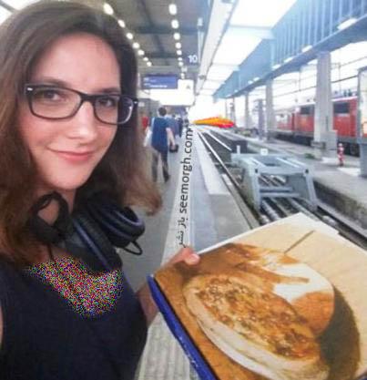 سفارش غذا در ایستگاه قطار