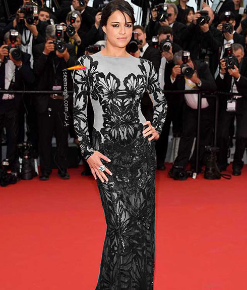 Michelle Rodriguez بدترین لباس در جشنواره کن 2015