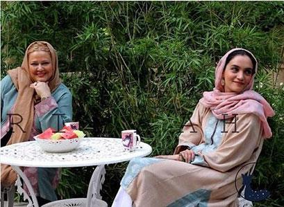 بهاره رهنما و میترا حجار، مدل های برند ریماه Rimaah