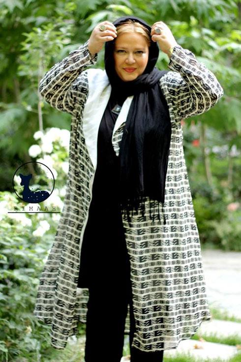 بهاره رهنما مدل مانتوهای تابستانی برند ریماه Rimaah