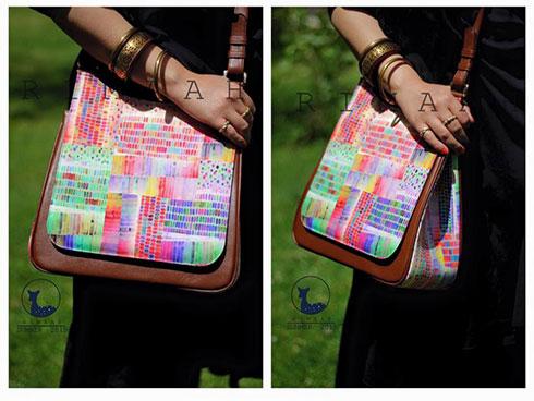 کیف تابستانی برند ریماه Rimaah با طرح تابستانی