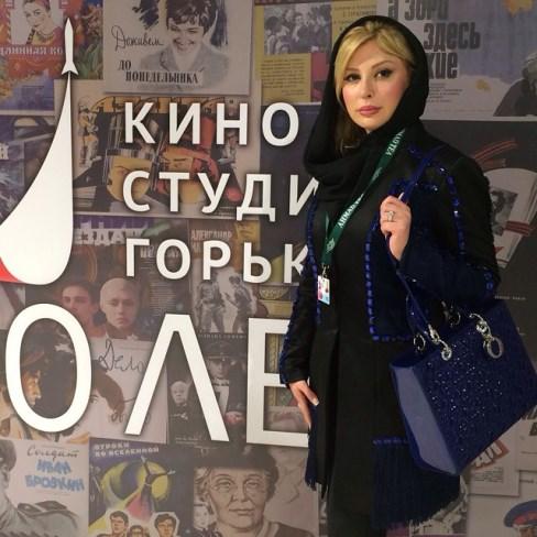 نیوشا ضیغمی در فستیوال مسکو