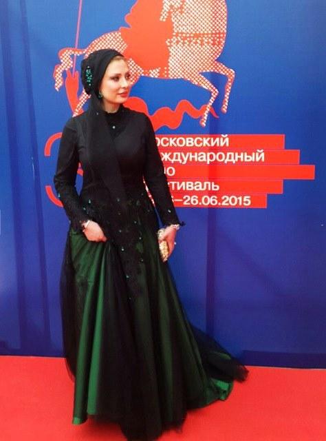 نیوشا ضیغمی در فستیوال فیلم مسکو