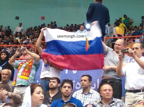 هواداران والیبال روسیه
