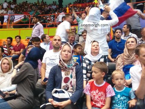 زنان هوادار والیبال روسیه
