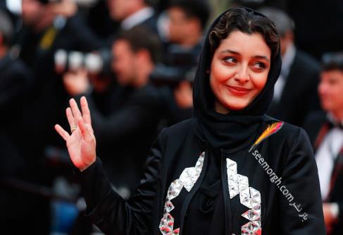 ساره بیات در اختتامیه جشنواره کن 2015